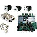 KIT elettronica per pantografo CNC con scheda elettronica 3 assi e 3 motori 1,8