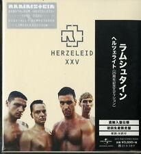 RAMMSTEIN-HERZELEID XXV-IMPORT DIGIPAK CD Ltd/Ed G88