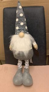 Next Standing Fabric Gonk 59/72cm Extendable Gnome Plush Ornament Santa Claus
