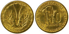 10 Francs 1974 Africa dell'Ovest Afrique de l'Ouest West Africa States #2340A
