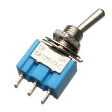5Pcs SH R8015-P14 3Pin ON-ON Maintained 2 Position Mini Paddle Toggle Switch 5A//125VAC