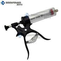 ODM Multidose Automatic Adjustable Dose Gun Syringe 50ml Livestock Veterinary