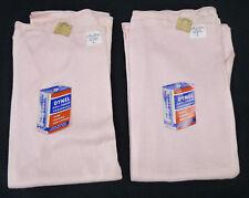 Vtg NOS Argo Knit Pink Knit Winter Thermal Long Leg Panties Lot 2 Deadstock L