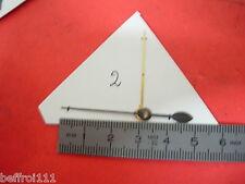 lot Aiguille indicateur de quantieme pendulette ancienne,pendule 34 & 49 mm n2