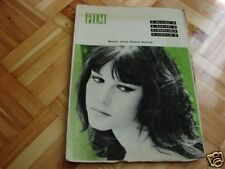 Stefania Sandrelli front cover Polish mag Film 1966