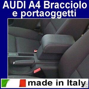 BRACCIOLO per AUDI A4 (1994 - 2006) appoggiabraccio Armrest armlehne
