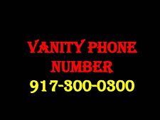Vanity Phone Number 917-300-0300