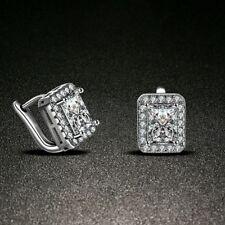 Gifts Party Piercing Jewerly CZ Zirconia Ear Hoop Women Earring Huggie