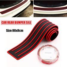 Anti-scratch Protective Slat Rear Bumper Rubber Cover Guard Pad Moulding Trims