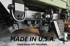 "Military Humvee Slantback Hitch Pinball Style 2"" Receiver Hitch M1045 M1043"