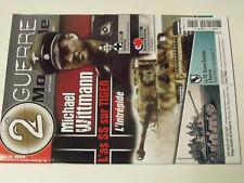 21$$ Revue 2e Guerre Mondiale n°79 Michael Wittmann PANZERZUG F.Bake