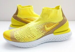 Nike Rise React Flyknit LMTD. Sonic Yellow/ Mens's Shoes. Size: 11 -REG:$175.00