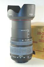 Sigma AF-D 28-200 mm 1:3.5-5.6 Objektiv für Nikon FX und DX
