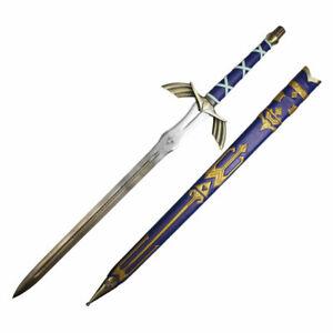 "50"" Anime replica Handmade Blue Colour  Legend of Zelda Full Tang Master Sword"