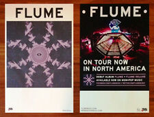 FLUME Self-Titled Ltd Ed RARE 2 New Posters Lot +FREE Indie Pop EDM Poster! SKIN