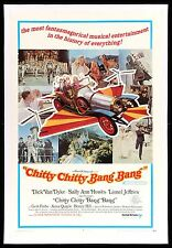 CHITTY CHITTY BANG BANG * CineMasterpieces MOVIE POSTER ANTIQUE CAR AUTO GARAGE