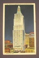 1938 Kansas City Power and Light Co., Building by Night - Kansas City, MO