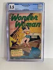 Wonder Woman #70 CGC 3.5 1954 First Appearance Of Angle Man