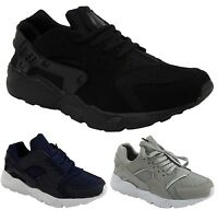 MENS BOYS RUNNING LIGHTWEIGHT FITNESS GYM SPORT LACE UP TRAINERS SIZE 6-11 NEW
