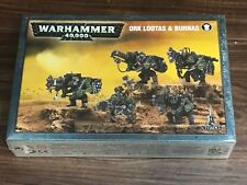 Warhammer 40K Ork Lootas & Burnas *New in Box*