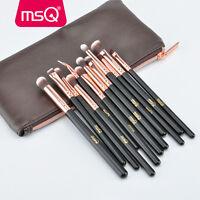 MSQ Pro Makeup Brushes Set Powder Foundation Eyeshadow Eyeliner Lip Brush Tool