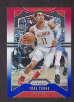 2019/20 Panini Prizm TRAE YOUNG Red White Blue Prizm Mint 2nd Year Hawks