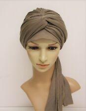 Volume turban hat, full head covering, head wrap, hair wrap, chemo head wear