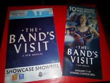 The Bands Visit, 2020 National Tour Playbill & Flyer, Janet Dacal & Gabay