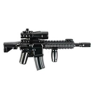 BrickArms M27 IAR Tactical Rifle for  Minifigures Soldiers Military -NEW-