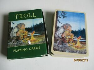 Collectable vintage nyform type troll playing cards #S4