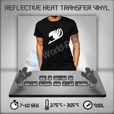"Silver Reflective htv -Heat Transfer Vinyl material Safety  - 20""x 5 Yard roll"