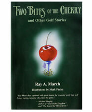 New Hardcover Golf Book (Two Bites Of The Cherry And Other Golf Stories)