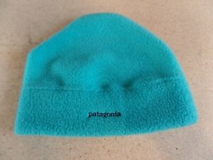 VINTAGE Patagonia Fleece Beanie Winter Ski Cap Hat - USA - UNISEX MED.