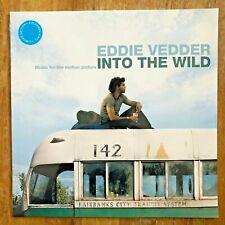 EDDIE VEDDER ~ Into The Wild ~ SEALED! SKY BLUE VINYL LP OOP ~ Pearl Jam