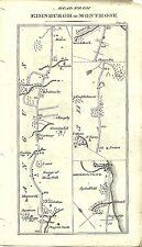 Antique map, Edniburgh to Montrose (2)