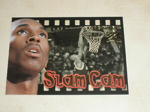 1997-98 Skybox Z-Force Slam Cam #4 Kevin Garnett