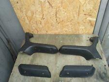 BMW E30 Black Door Handle Armrest Sedan Set