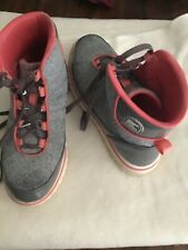 Sorel Tennis High Top Shoes 8.5 Used Good Condition Gray