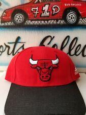 Adidas NBA Chicago Bulls Snapback Hat w/Team Lanyard