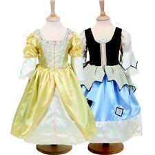 Costume Ragazza Libro Settimana Dickens Principessa & PAUPER-reversibile 2 in 1 ANNO 6-8
