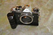 Pentax ME 35mm Camera Body *AS/IS* with Pentax Rapid  Film Winder  ME
