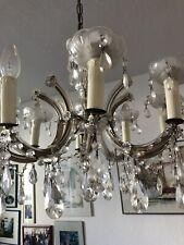 Wunderschönen Alten Glas Kronleuchter mit 8 Arme