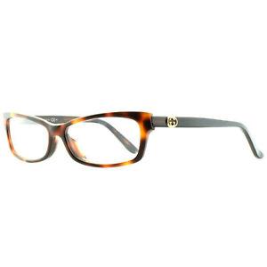 Gucci GG 3599/F WRR Havana / Black Rectangular Optical Frames Eyeglasses