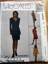 McCALL'S SEWING PATTERN  NO. 9099 LADIES SUIT  SIZE 12, 14, 16