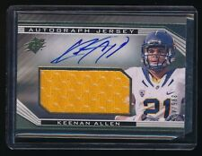 KEENAN ALLEN 2013 SPX ROOKIE JERSEY RC AUTO 395/475 SAN DIEGO CHARGERS