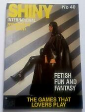 Shiny International Magazine No 40  Shiny Publications Rubber PVC Latex Fashion