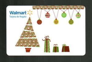 WALMART ( Puerto Rico ) Christmas Trees & Ornaments 2011 Gift Card ( $0 )