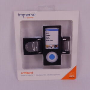 New Immerse by Griffin iPod Nano 5th Gen Armband Case