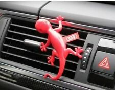 000087009B Genuine Audi Gecko Air Freshener - Red - Flowery scent