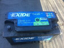 Exide car battery 80Ah 700A 12v, 5-6 months old